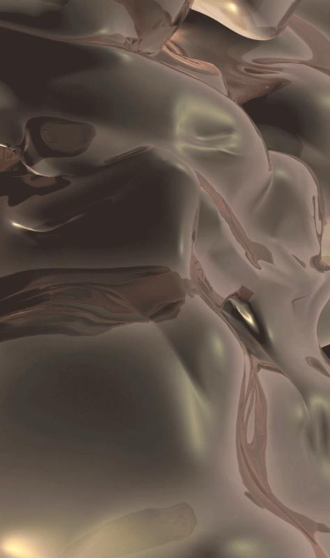 """Salomé Chatriot, """"Fragile Ecosystem"""" (2018). Extrait de vidéo digitale displayée dans l'espace"""