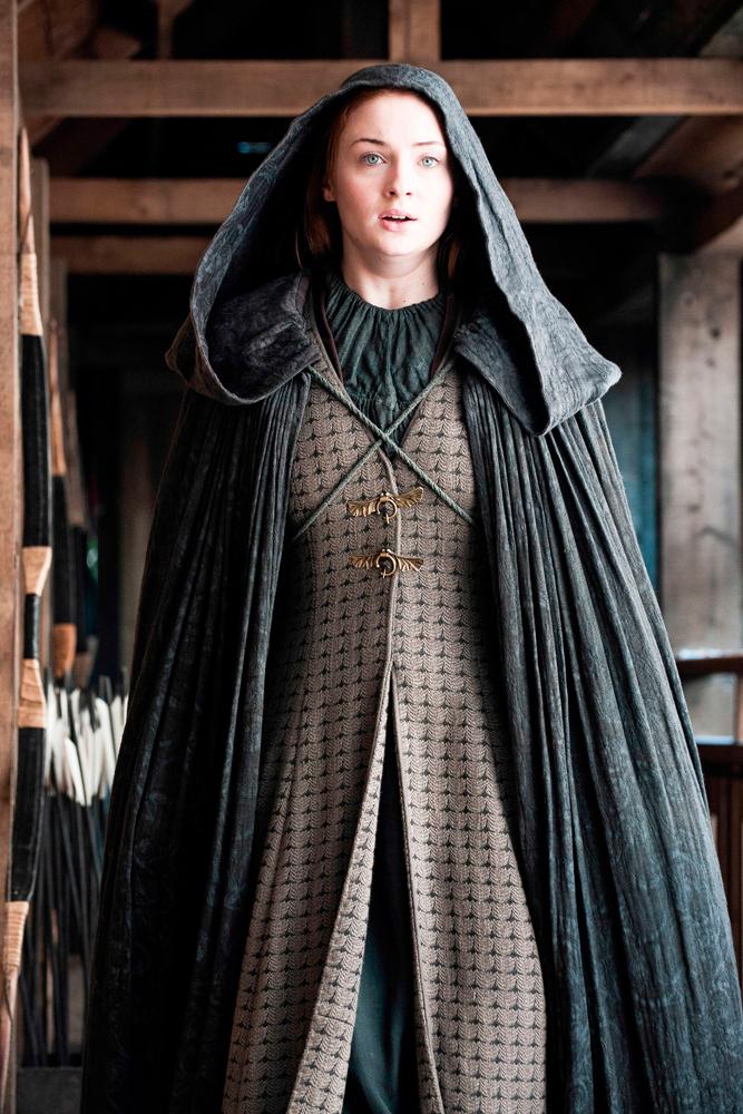 Sansa Stark in Game of Thrones.
