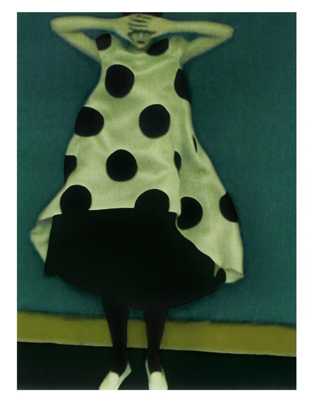 La robe à Pois, 1996 © Sarah Moon / Courtesy Armani/Silos