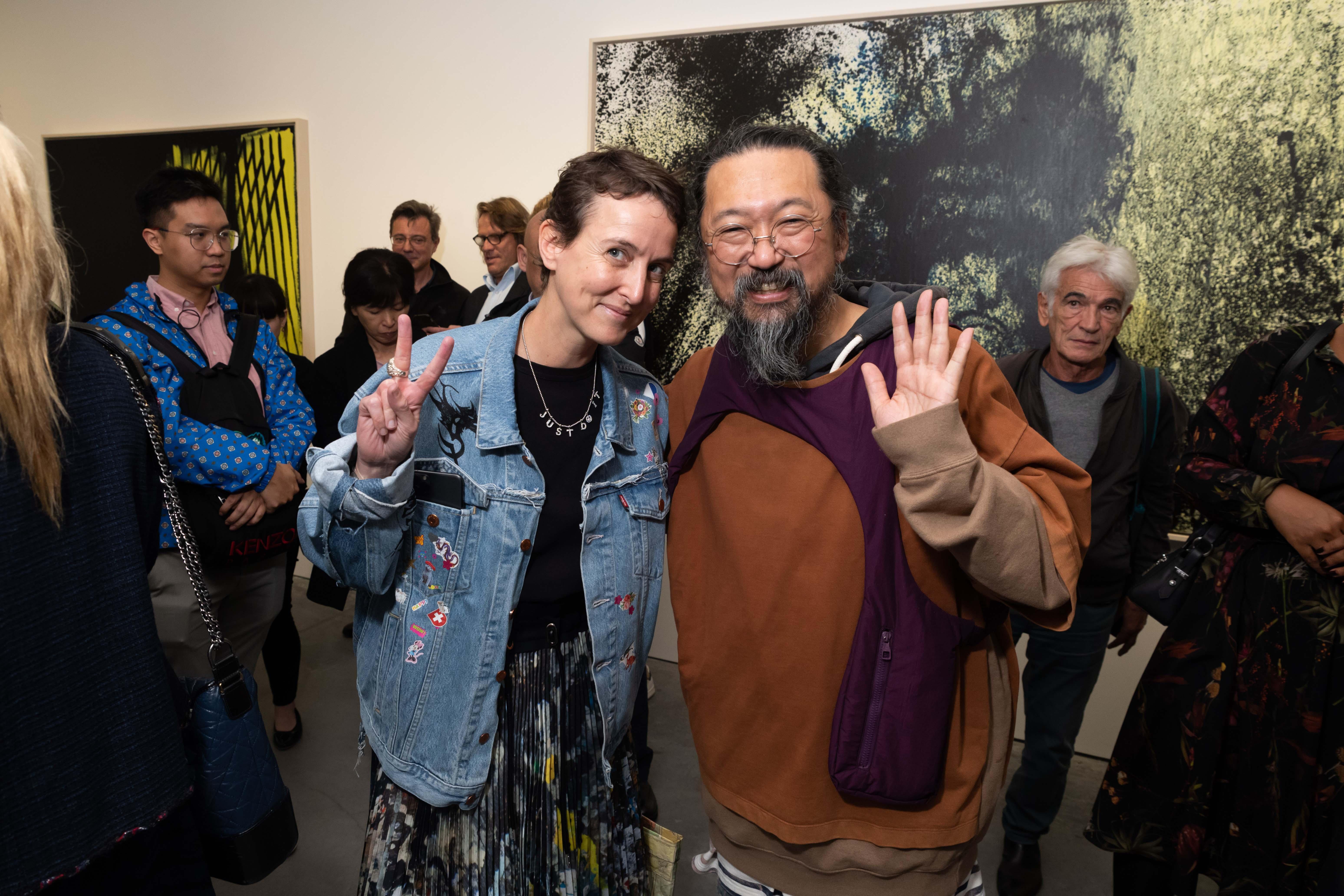 Sarah Andelman et Takashi Murakami