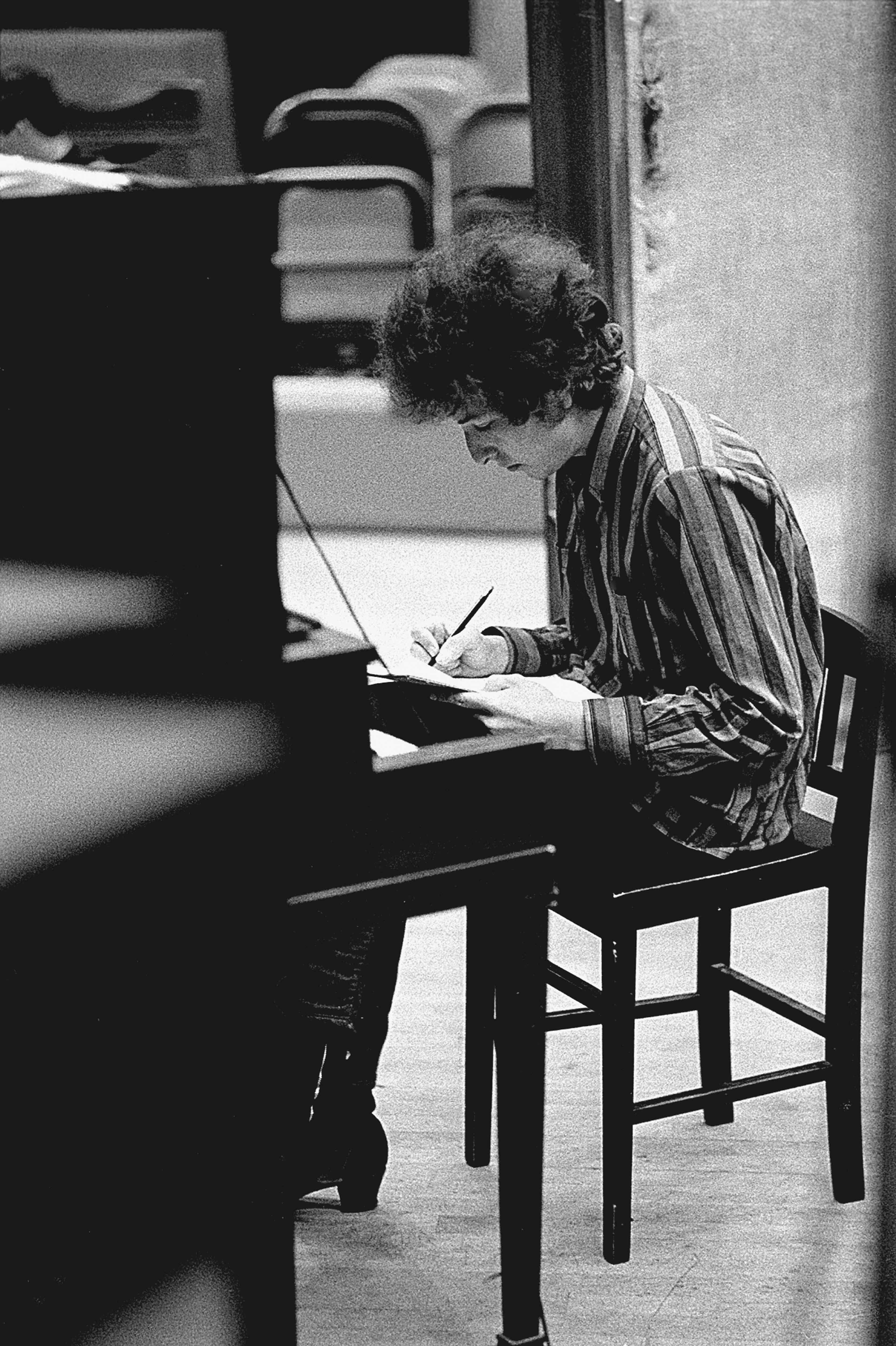 Jerry Schatzberg, L'écrivain (1965) Argentique, 101x76cm.