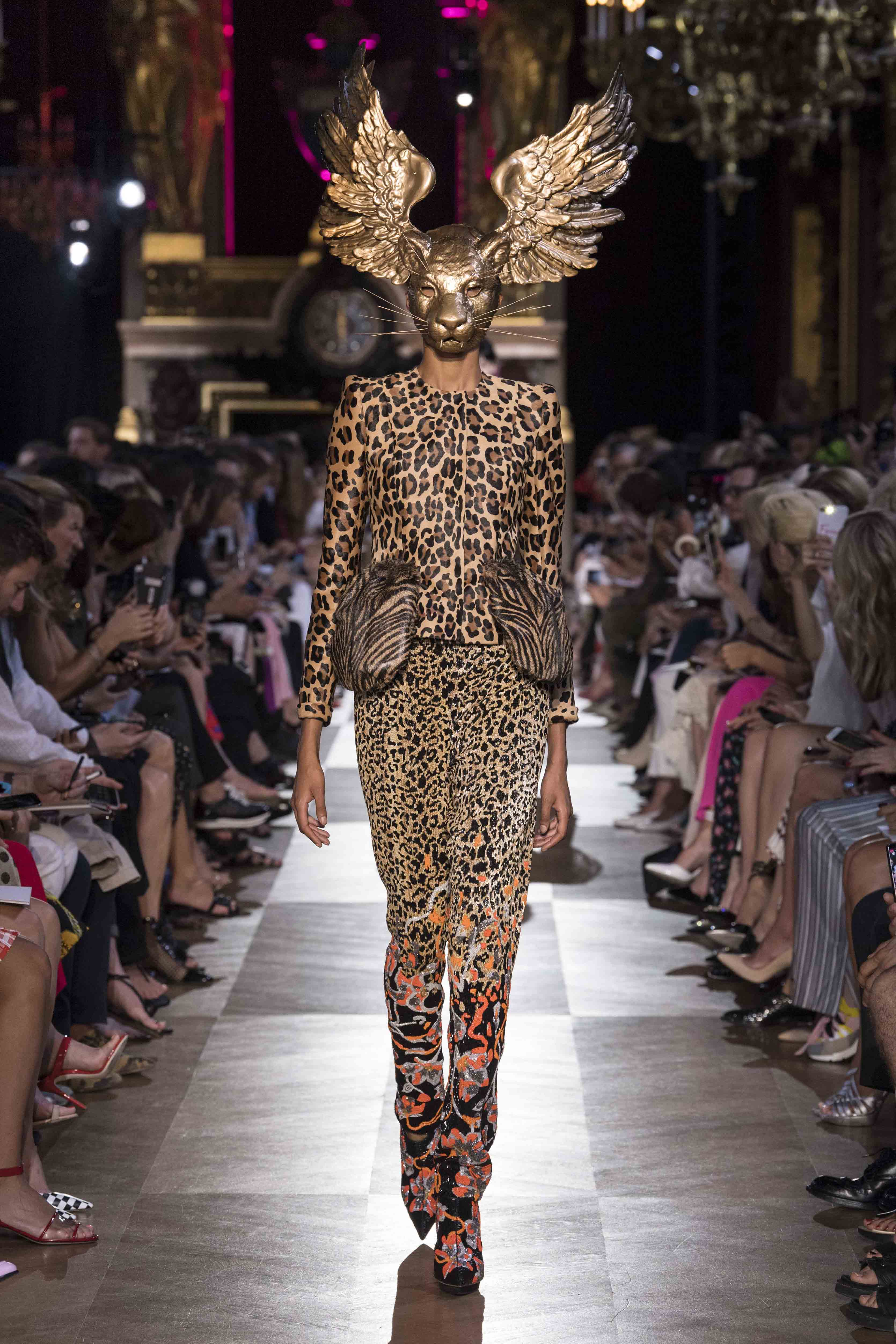 Schiaparelli Couture Fall Winter 2018 2019 Fashion Show
