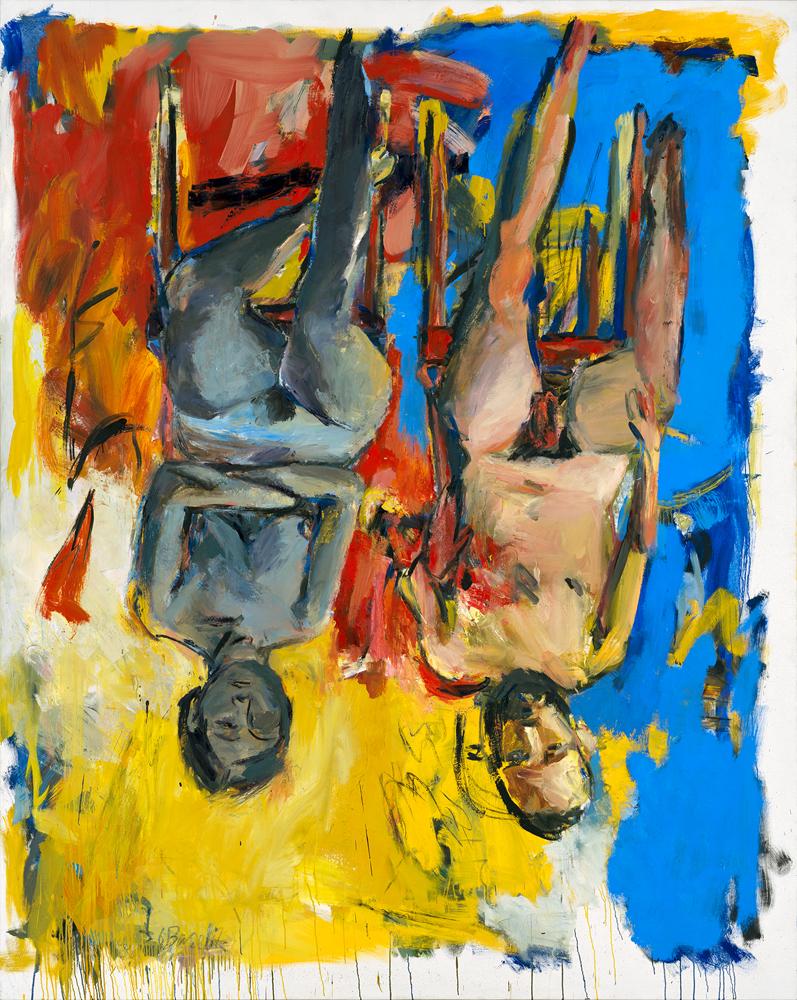 Schlafzimmer-(Bedroom), 1975. Georg Baselitz