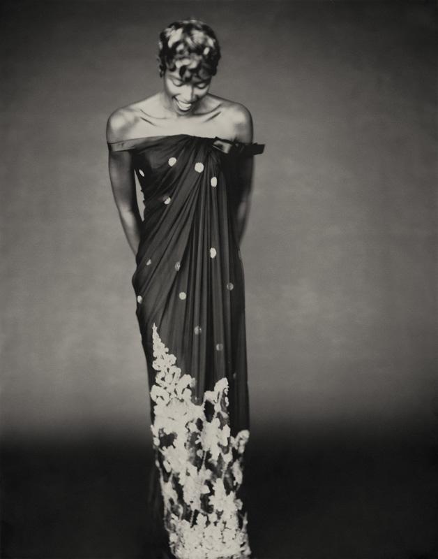 Robe Shalimar Collection Haute Couture automne-hiver 1996 par Gianfranco Ferré