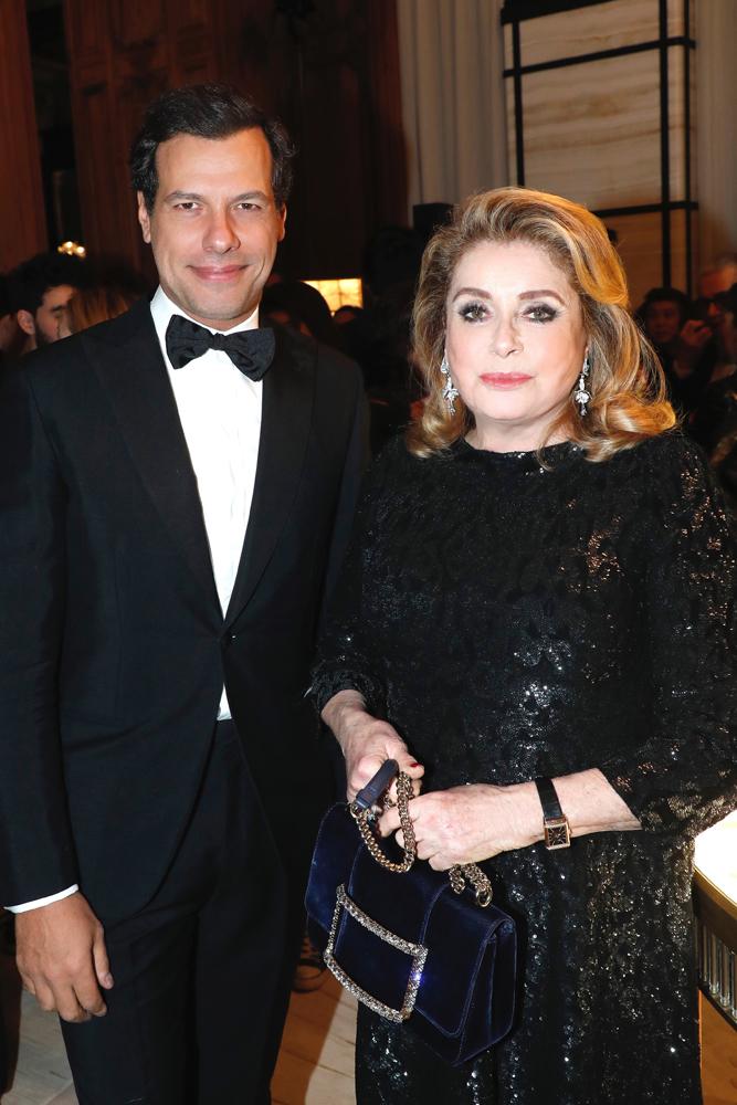 Laurent Lafitte et Catherine Deneuve