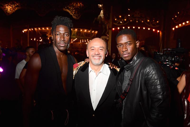 Moses Sumney, Christian Louboutin et Damson Idris