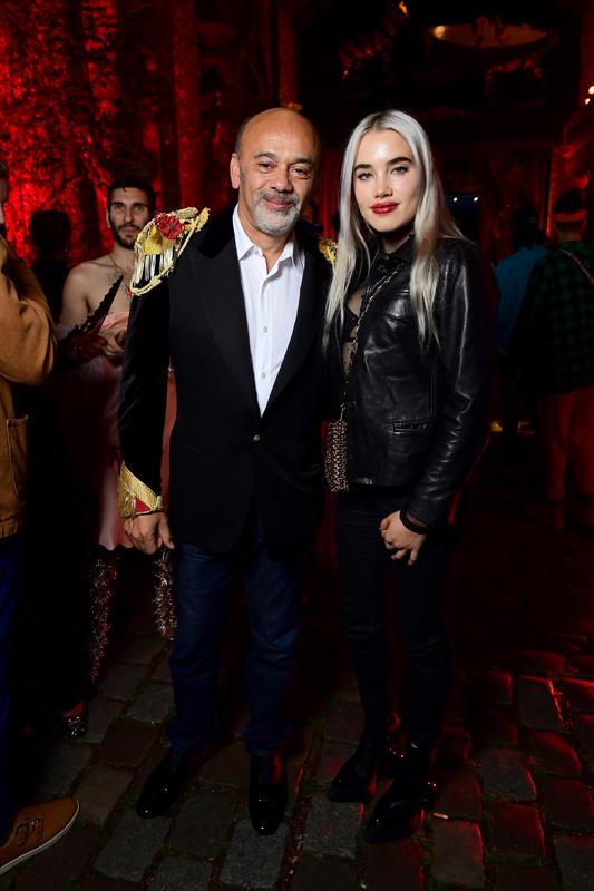 Christian Louboutin et Isamaya French