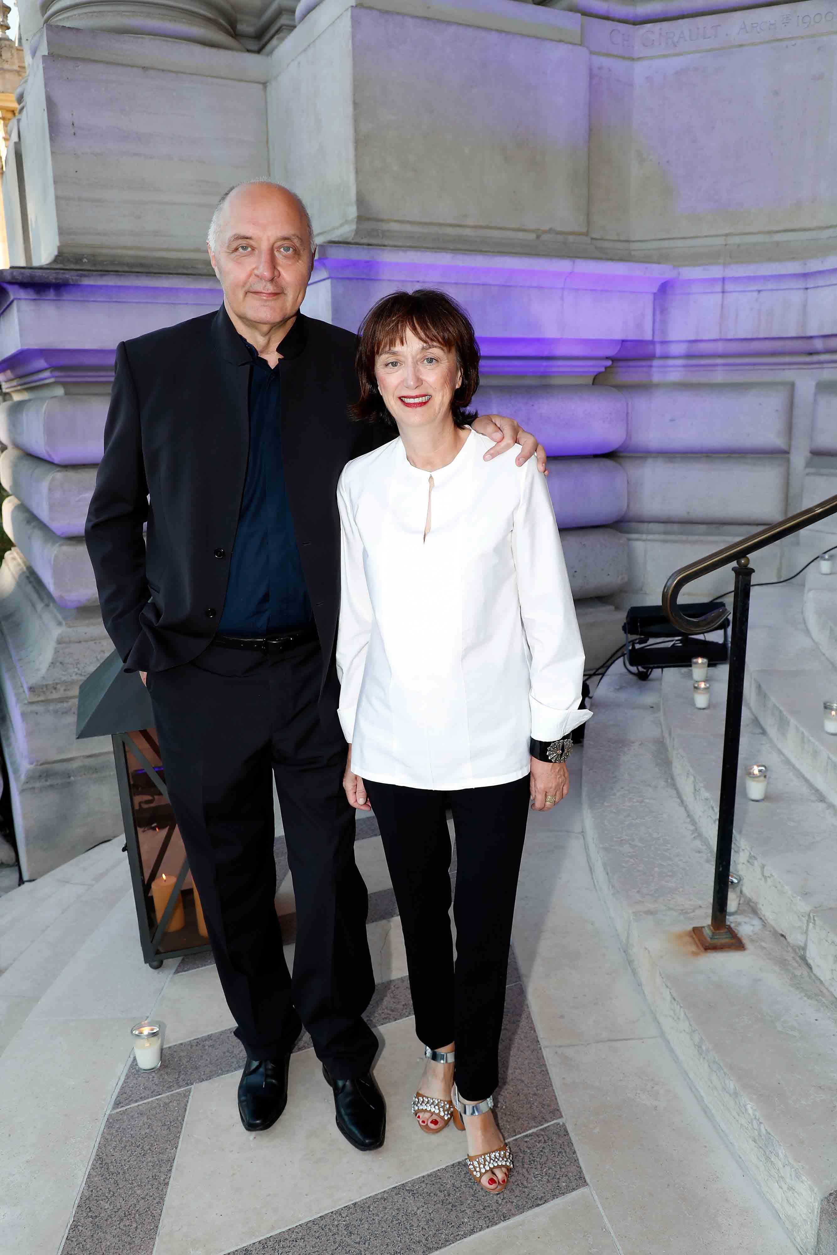 Pascal Morand et Sylvie Ebel