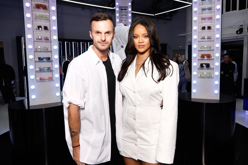 Kris Van Assche et Rihanna