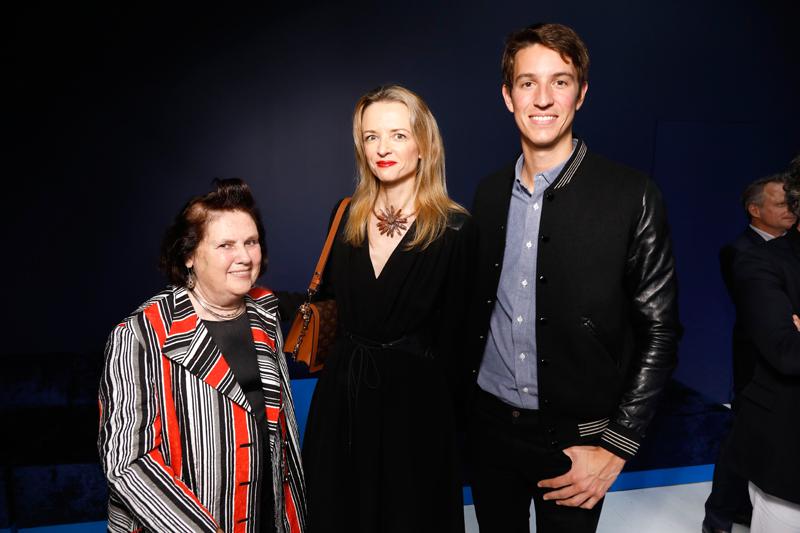 Suzy Menkes, Delphine Arnault et Alexandre Arnault