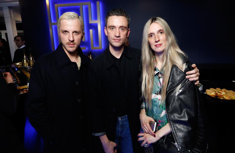 Glenn Martens, Guillaume Henry et Delphine Roche