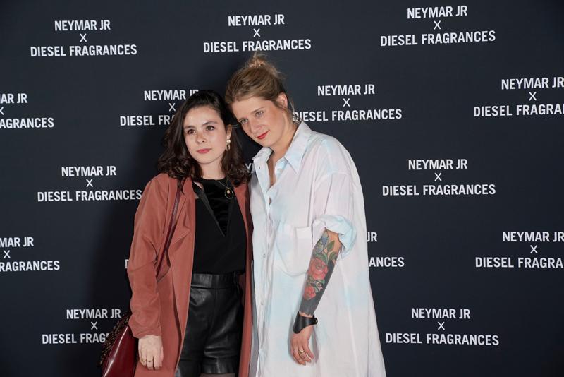 Eva Edelstein et une amie.