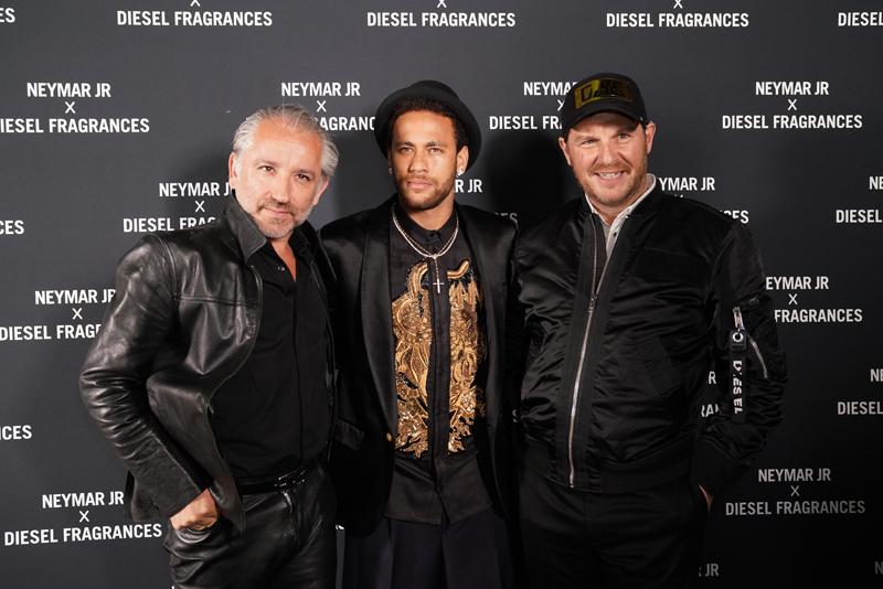 Cyril Chapuis, Neymar et Guillaume de Lesquen