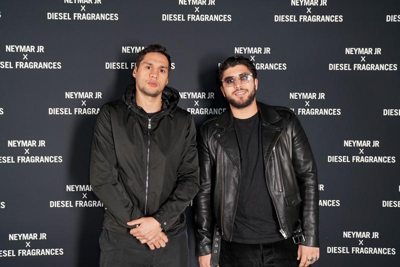 Ahmed Mousaoui et un ami