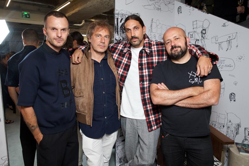 Kris Van Assche, Mathias Augustyniak, Ben Gorham, Michael Amzalag