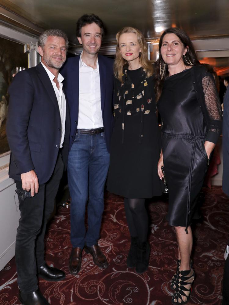 Jacques Bungert, Antoine Arnault, Delphine Arnault, Denise Vilgrain © François Goize.