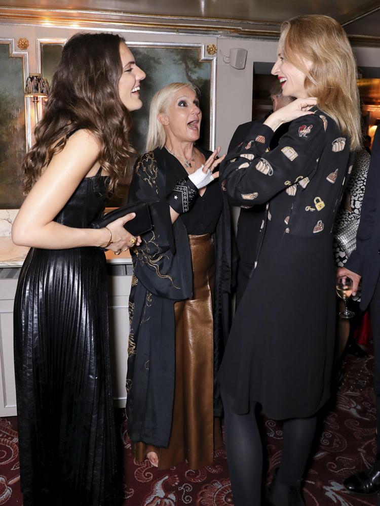 Rachele Regini, Maria-Grazia Chiuri, Delphine Arnault © François Goize.