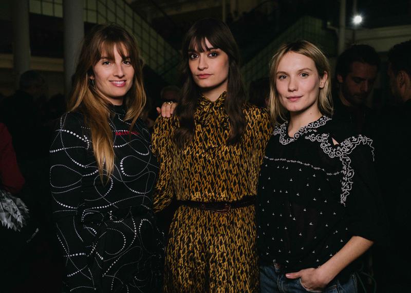 Sonia Sieff, Clara Luciani, Ana Girardot