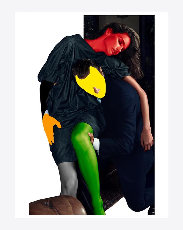 Noses Elbows and Knees' par Mario Sorrenti et John Baldessari