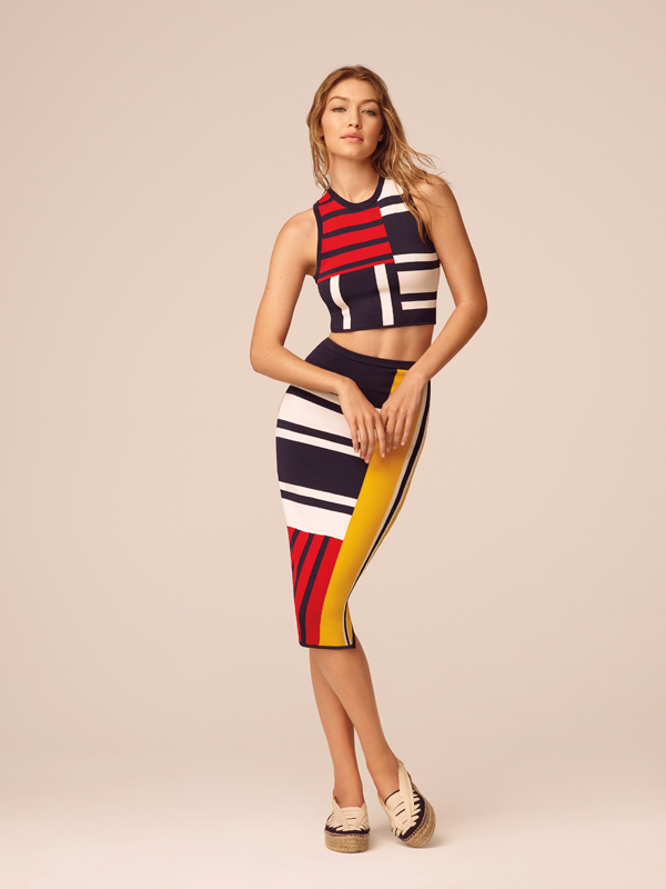 5bada426059bfb Gigi Hadid x Tommy Hilfiger  a second collection unveiled…