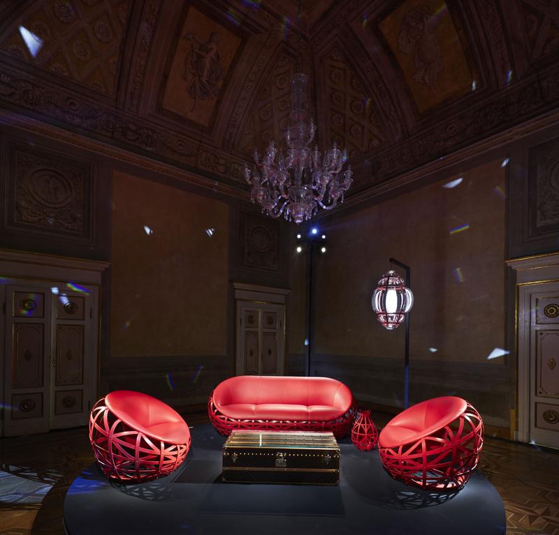 """Diamond Sofa & Armchair"" par Marcel Wanders, photo par Stephane Muratet"