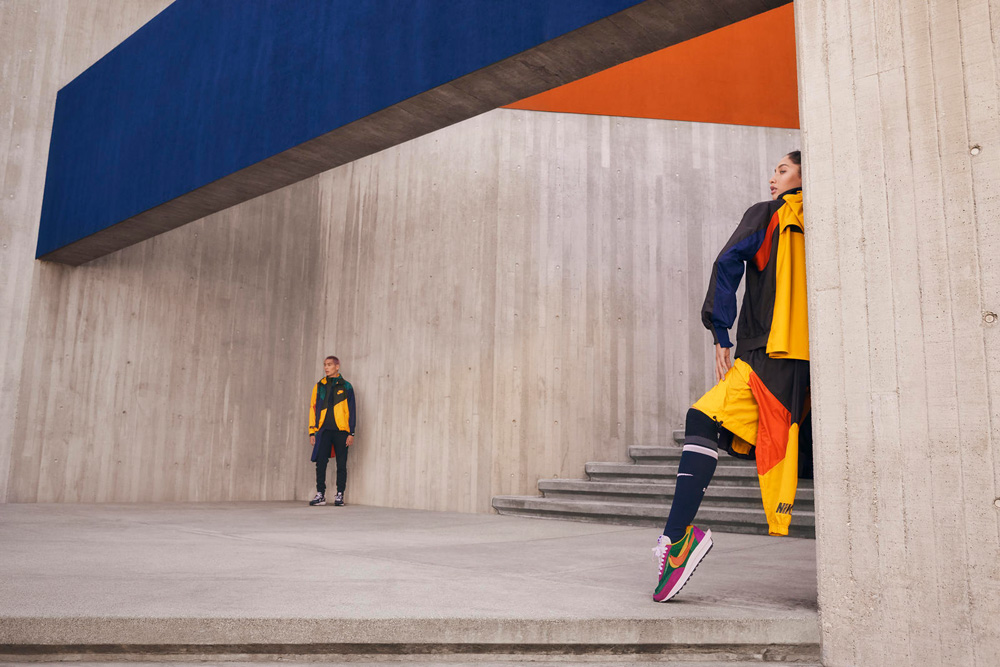 Nouvelle collection Nike x Sacai