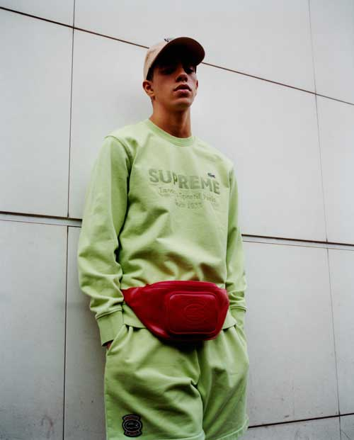 Collaboration Supreme x Lacoste
