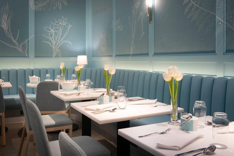 Le Blue Box Café Tiffany & Co. chez Harrods