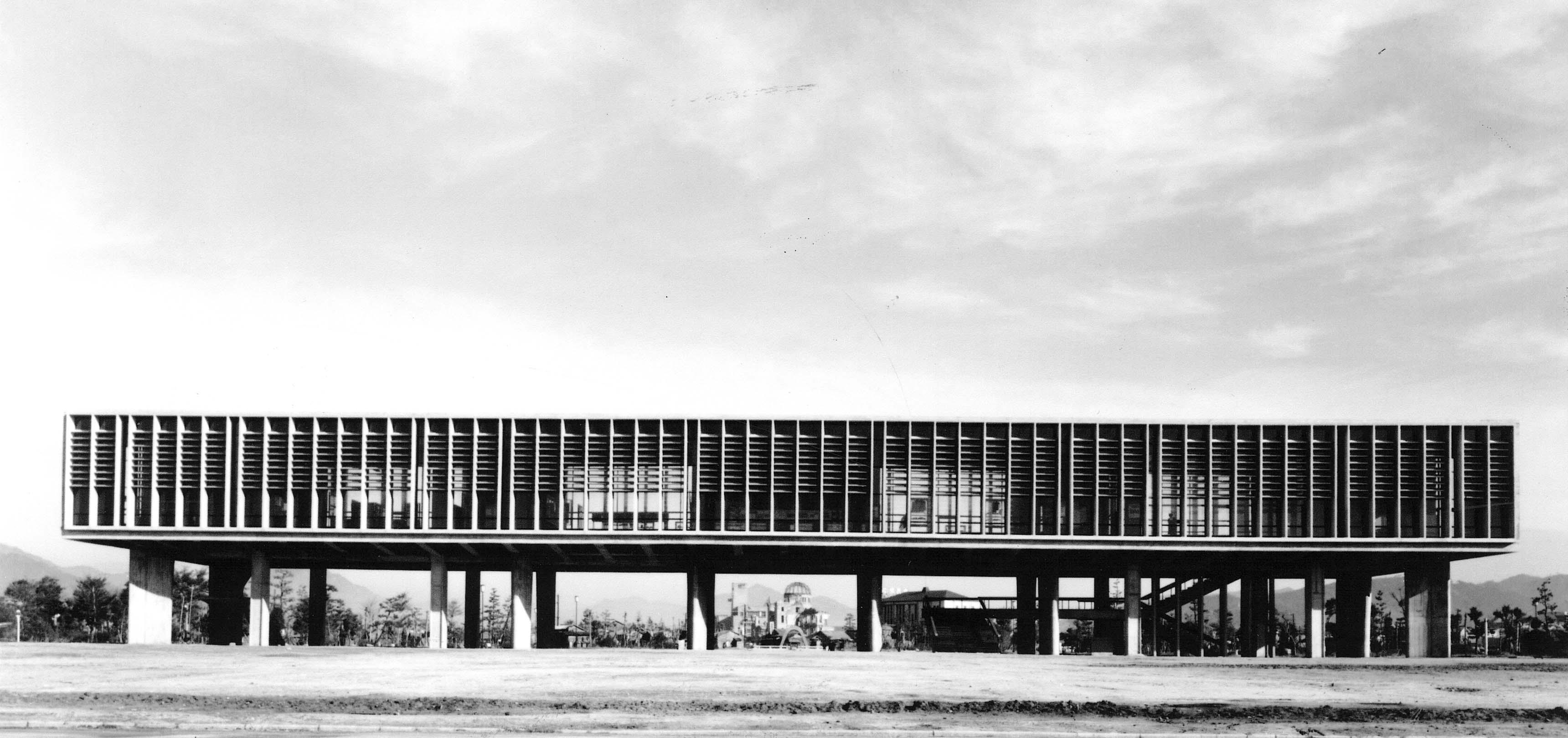 Kenzô Tange, Centre pour la paix, Hiroshima, 1952