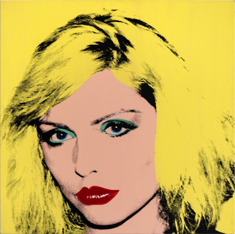 "Andy Warhol, ""Debbie Harry"" (1980). Private Collection of Phyllis and Jerome Lyle Rappaport 1961© 2020 The Andy Warhol Foundation for the Visual Arts, Inc. / Licensed by DACS, London."