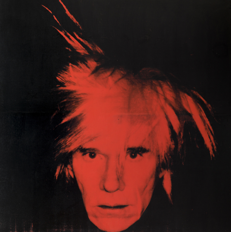 "Andy Warhol, ""Self Portrait"" (1986). Tate © 2020 The Andy Warhol Foundation for the Visual Arts, Inc. / Licensed by DACS, London."