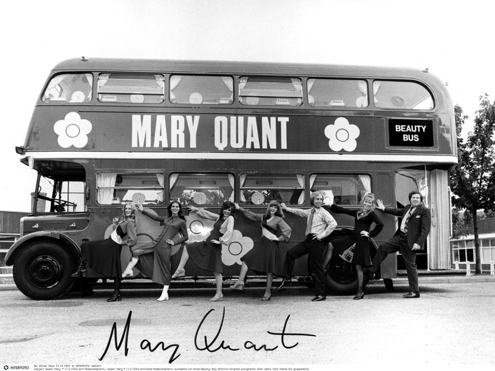 """The Mary Quant Beauty bus"", 1971 © INTERFOTO Alamy Stock photo"