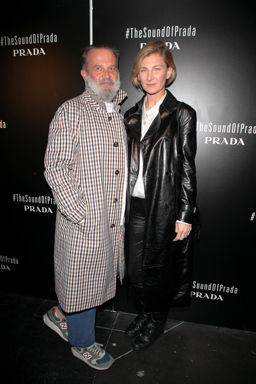 Robert Rabensteiner et Elizabeth Von Guttman