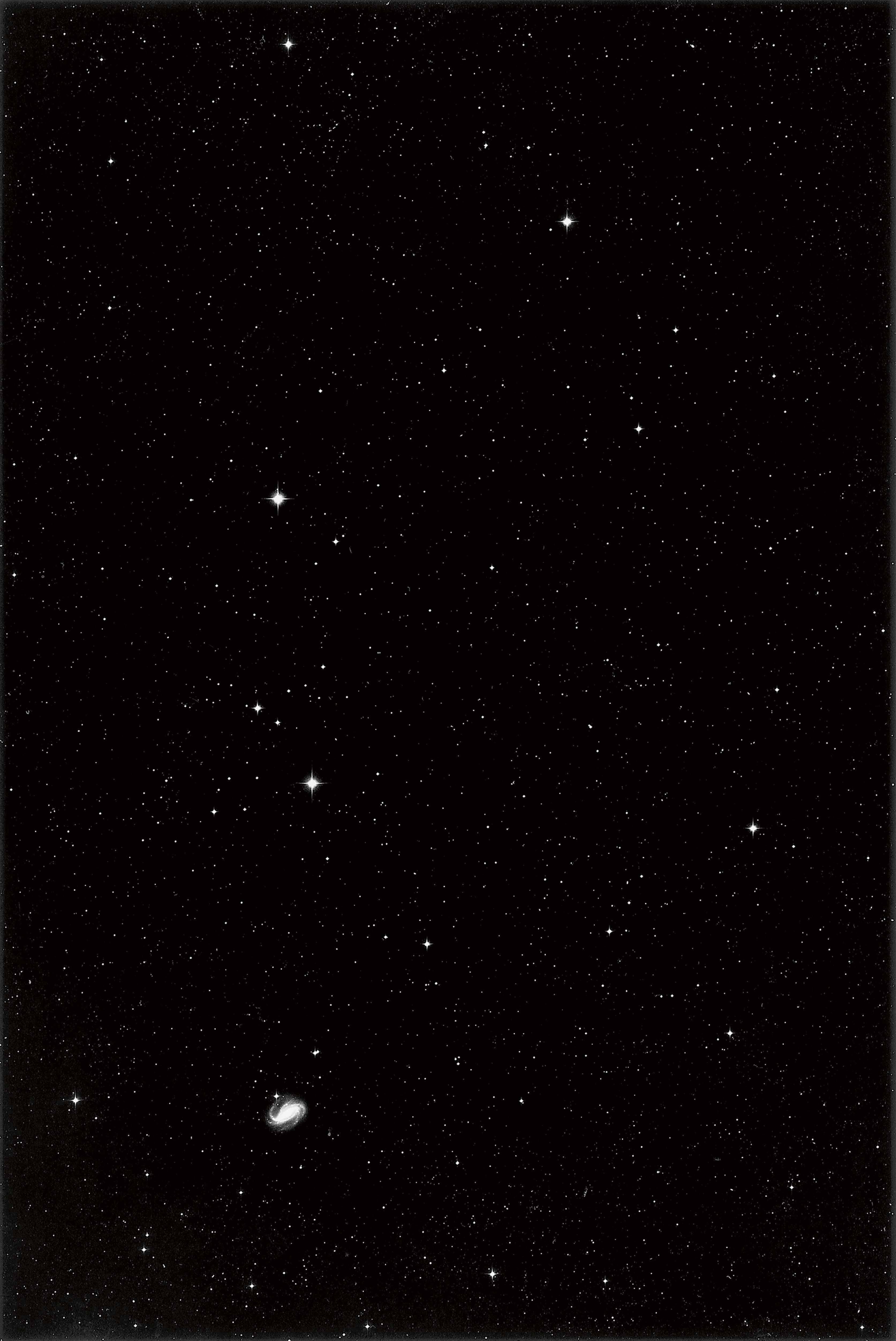 Thomas Ruff, 01h 32m -30°, 1992_Gagosian Gallery