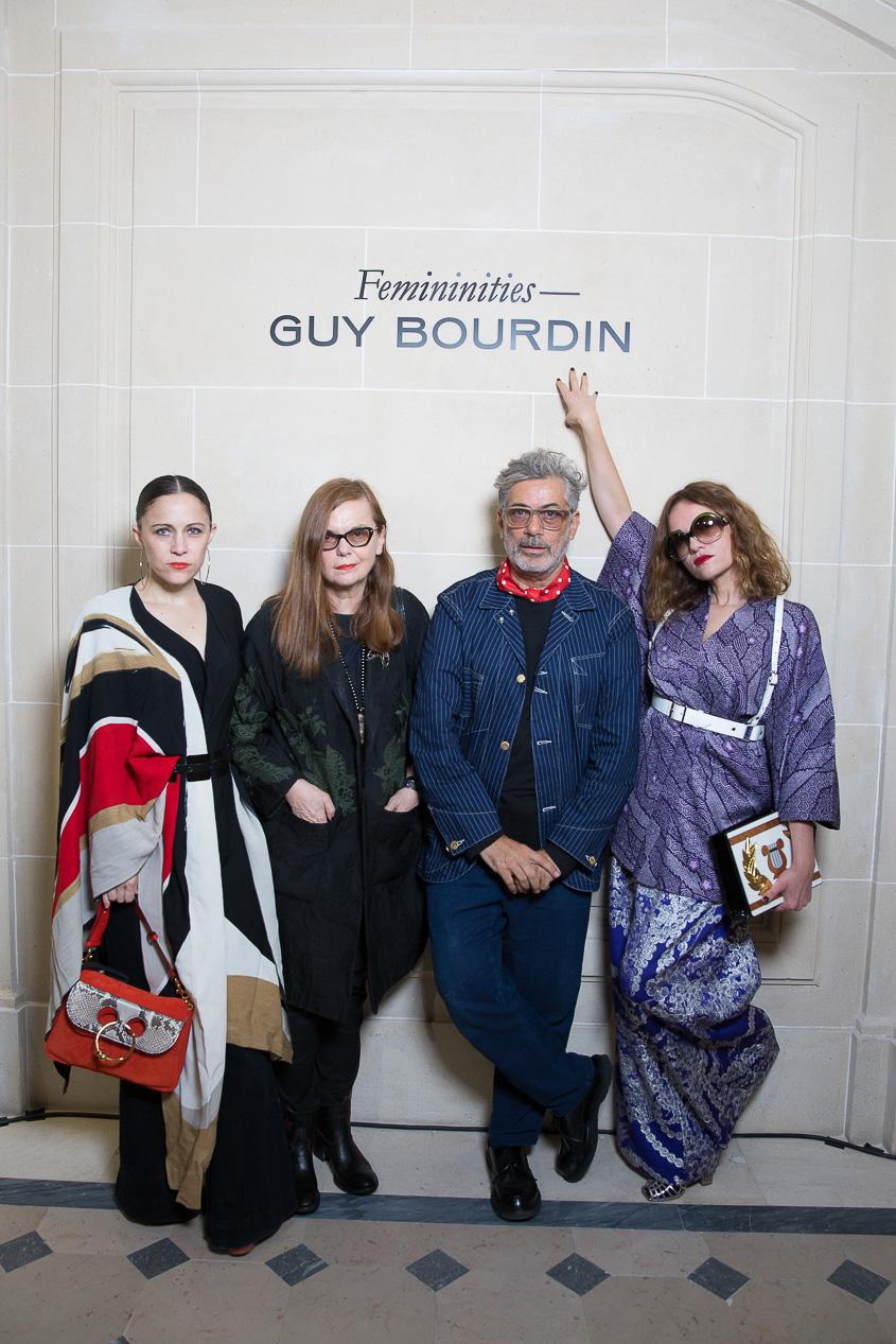 Tiffany Godoy, Martine Sitbon, Marc Ascoli et Yaz Bukey