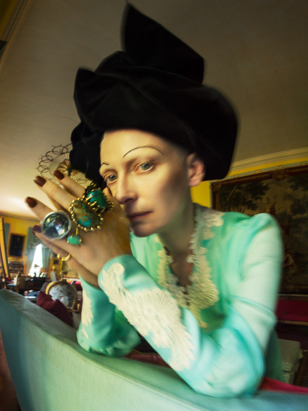 Tim Walker, 'Tilda Swinton', Renishaw Hall, Derbyshire, 2018 (c) Tim Walker Studio