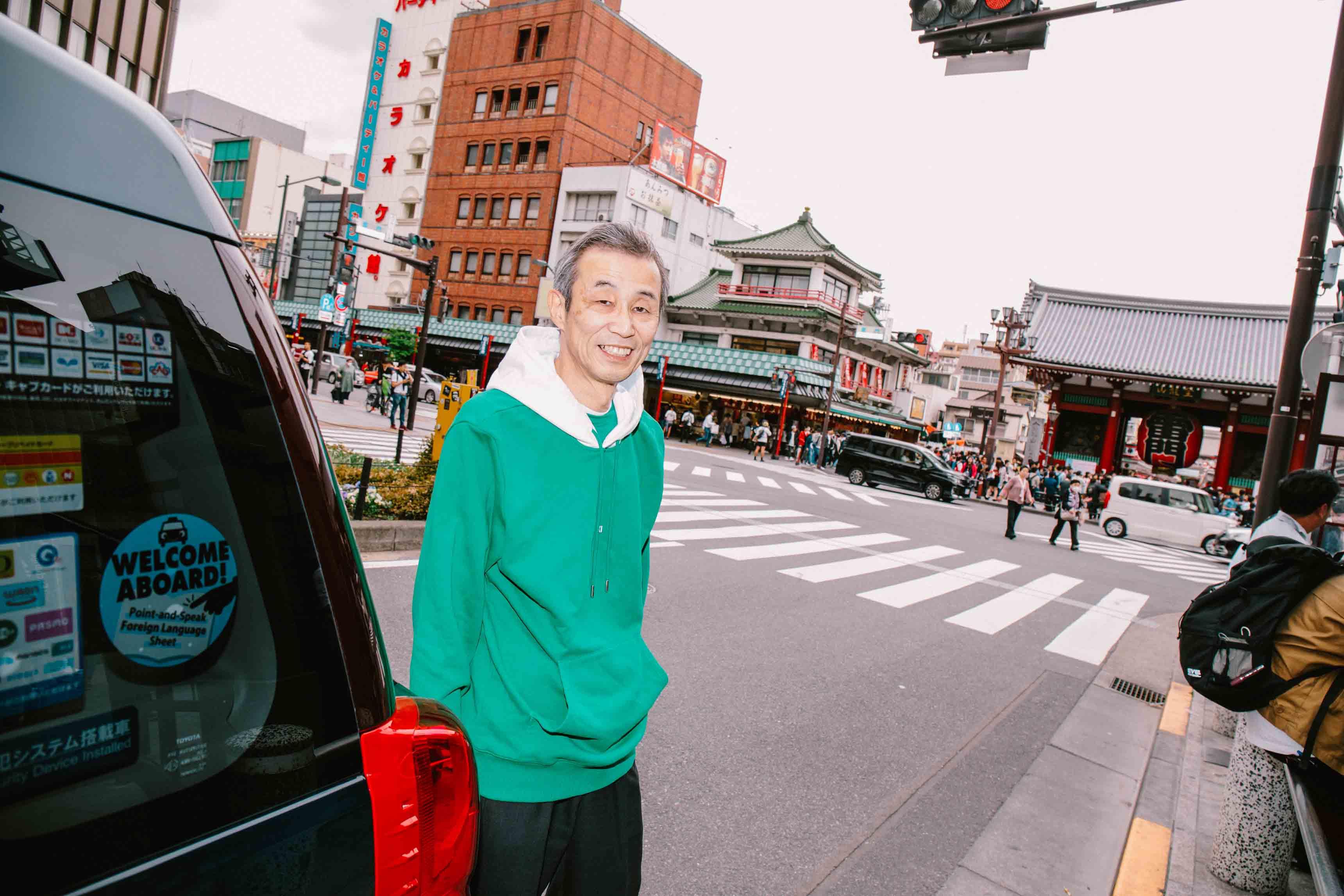Helmut Lang, Global Taxi Initiative, Tokyo - Photo : Kenta Nakamura