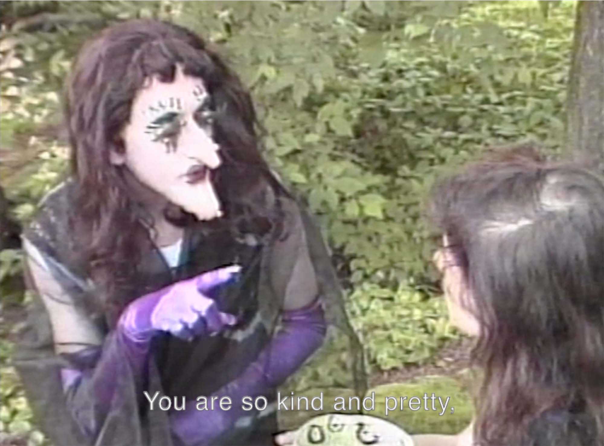 """Tom Rubnitz, """"The Fairies"""" (1989). Image copyright of the artist, courtesy of Video Data Bank, www.vdb.org, School of the Art Institute of Chicago"""