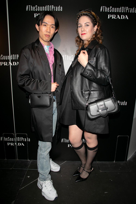 Tony Liu et Lindsay Schuyler