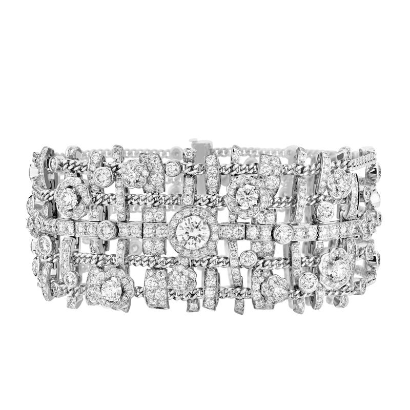 Bracelet Tweed Brodé