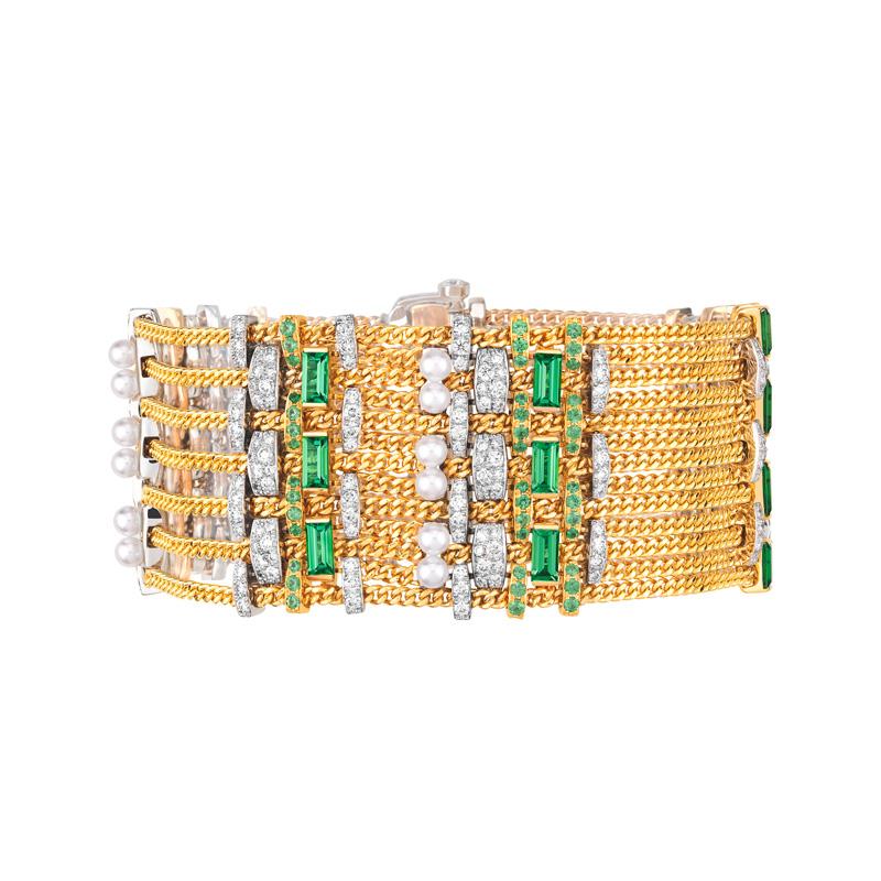 Bracelet Tweed chaîne