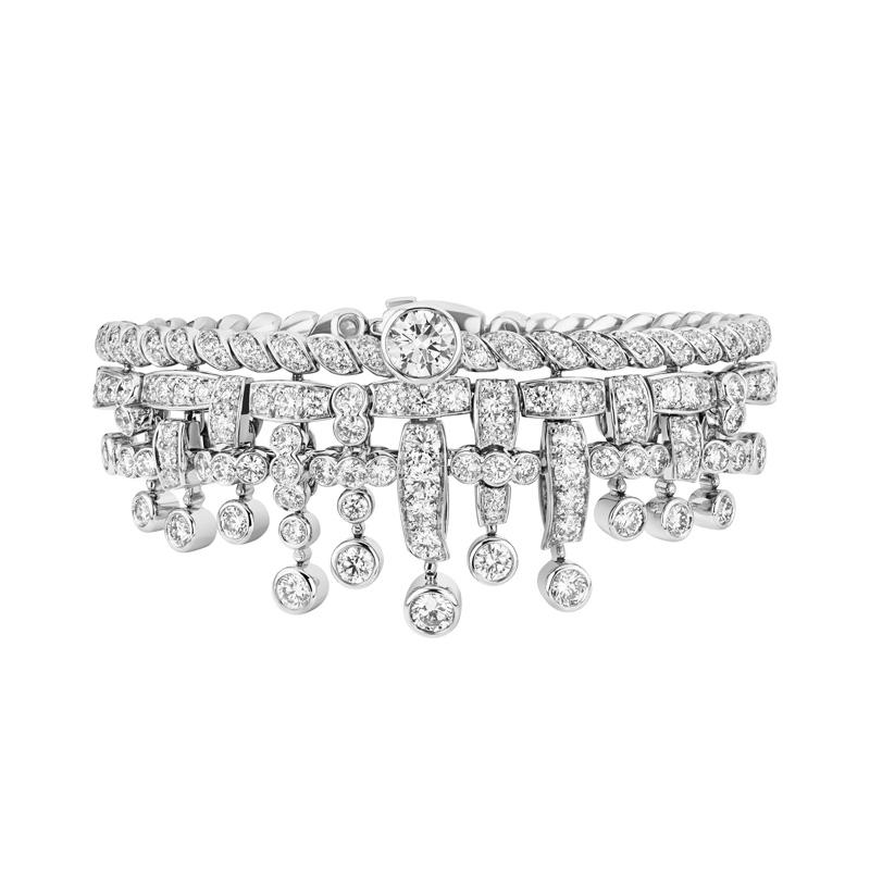 Bracelet Tweed Frange