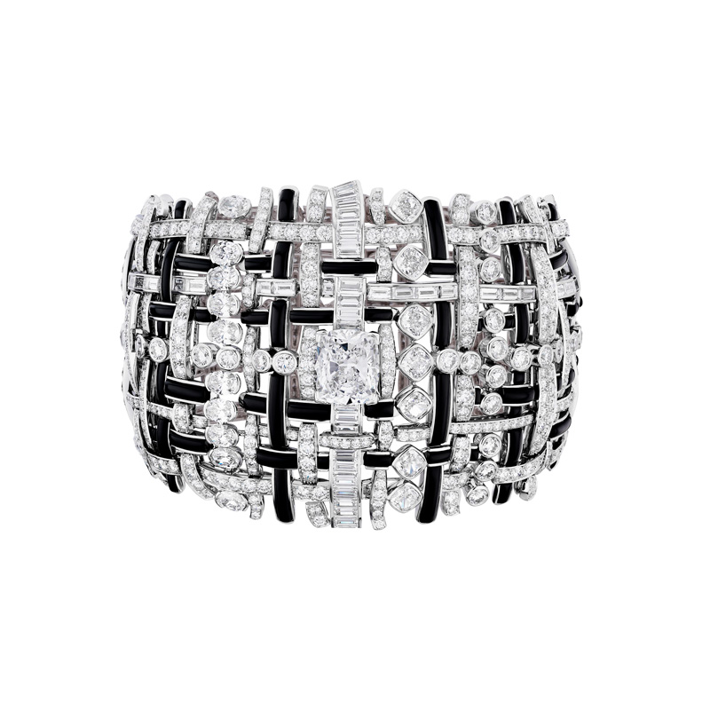 Bracelet Tweed Graphique