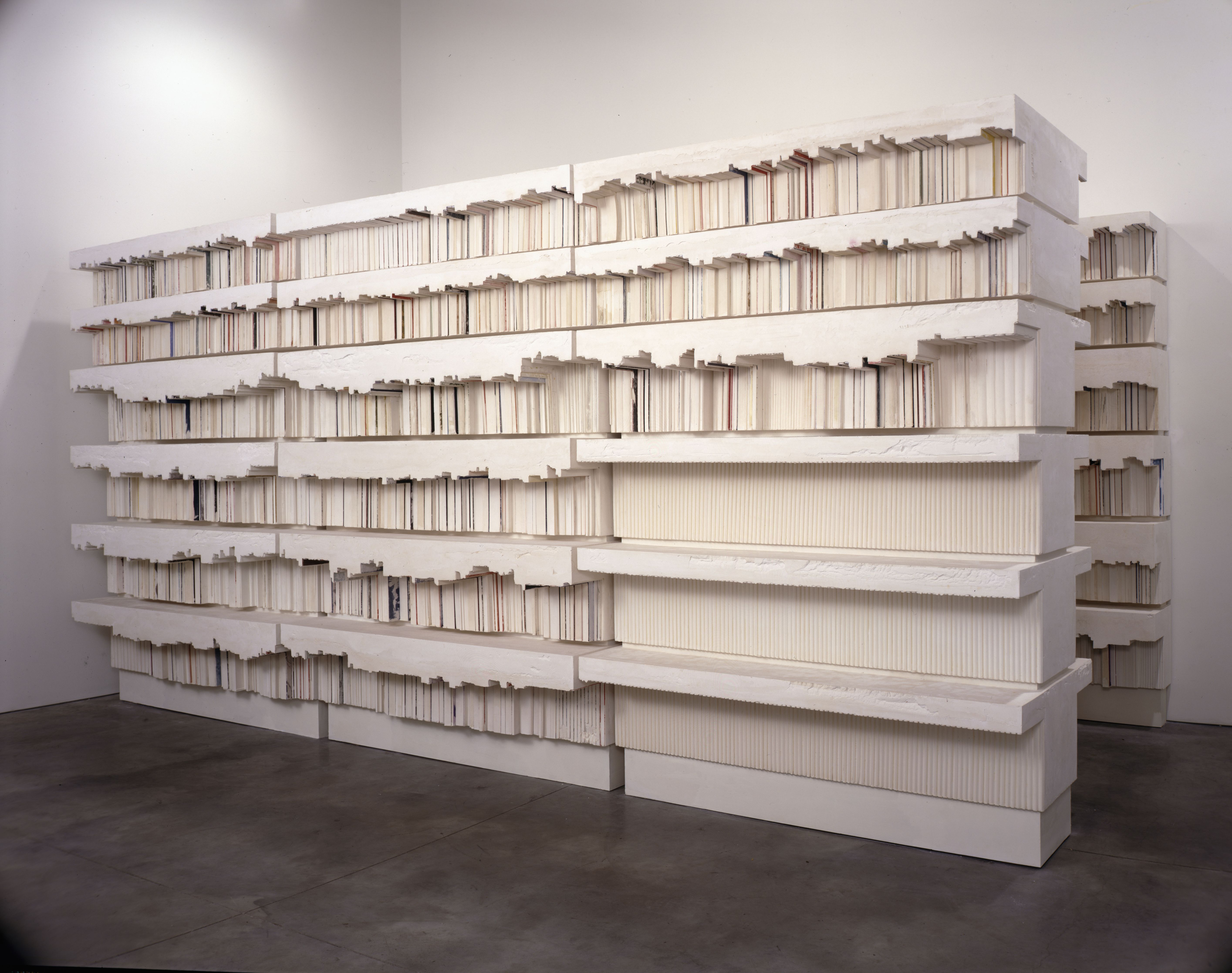Untitled ( Book Corridors), 1997, Rachel Whiteread