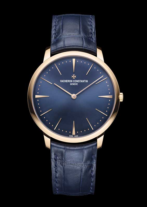 Patrimony manual winding blue, Vacheron Constantin