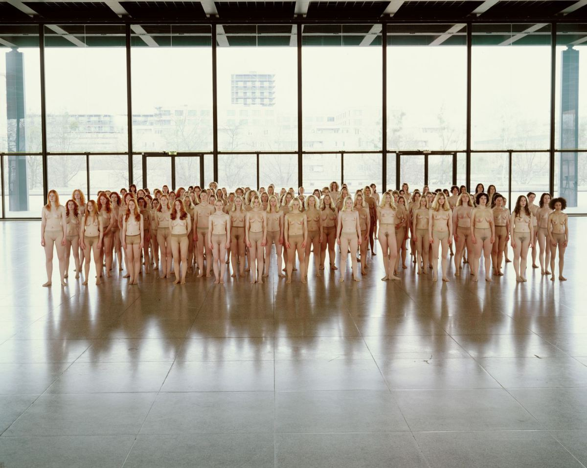"Vanessa Beecroft, ""VB55""."