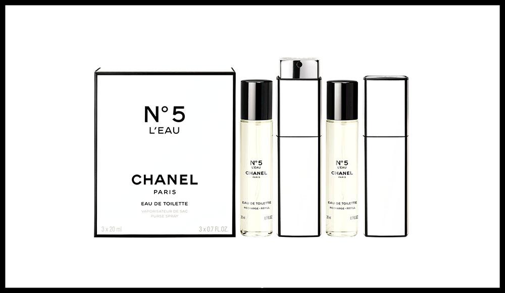 datant Vintage Chanel flacons de parfum