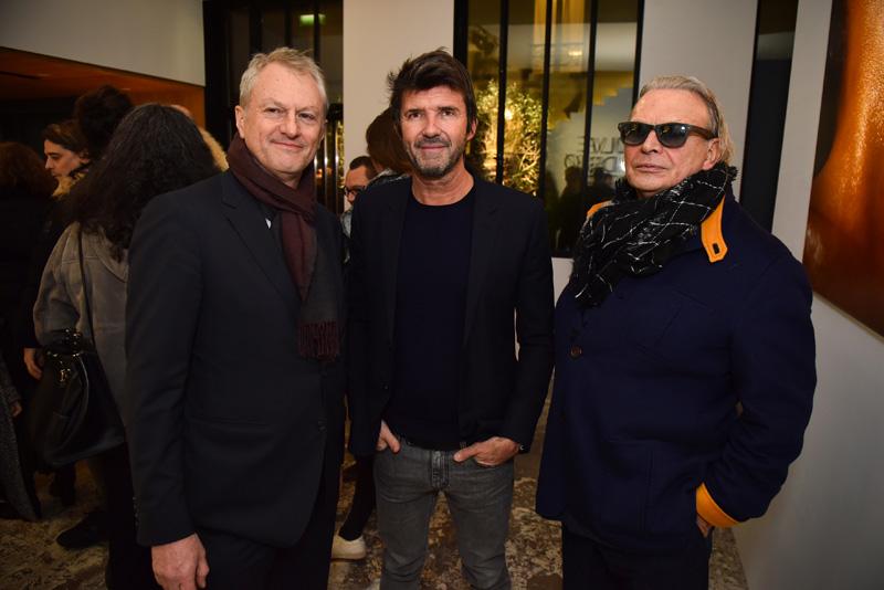 Xavier Marin, Paul-Emmanuel Reiffers et Olivier Massart