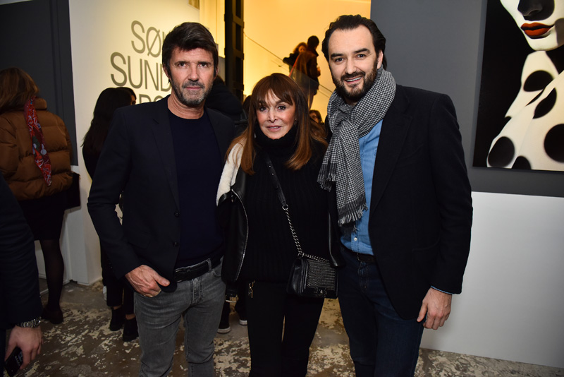 Paum-Emmanuel Reiffers, Babeth Djian et Cyril Lignac