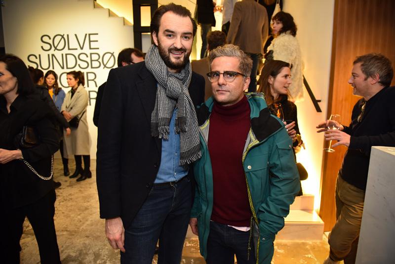 Cyril Lignac et Yorgo Tloupas